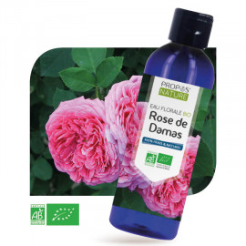 Rose de Damas BIO - Eau florale 200 ml